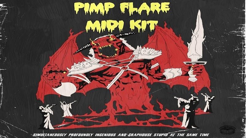 [Kit Preview] Pimp Flare - Gangero Midi Kit (DOWNLOAD)