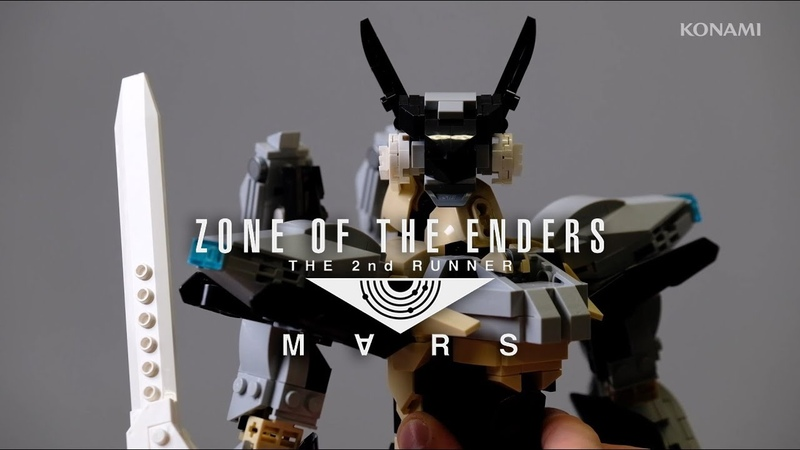 LEGO JEHUTY Build Video ZONE OF THE ENDERS THE 2ND RUNNER M∀RS