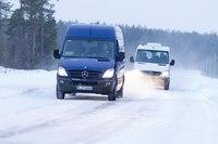 2013 Mercedes-Benz Sprinter receives minor updates.
