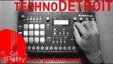 Techno Detroit live performance (Elektron Analog Rytm)
