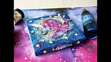 Galaxy Dreams altered Notebook with Lindy's gang