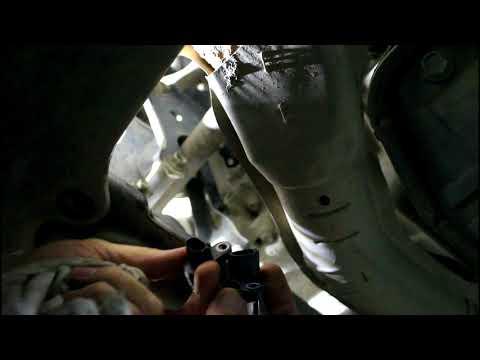 Замена датчика положения коленвала на Ниссан Икстрейл 2001 года Nissan X Trail