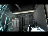 Portal 2 Test Chamber 17 Ratman's Den Reopening door