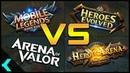 ULTIMATE VS!!   Mobile Legends, Arena of Valor, Heroes Evolved, Heroes Arena