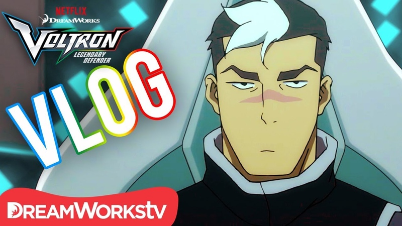 Voltron Vlogs: Shiro   DREAMWORKS VOLTRON LEGENDARY DEFENDER