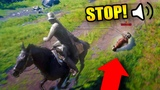 I FEEL BAD FOR DOING THIS... Red Dead Redemption 2 Online Outlaw Life #16