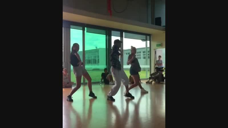 Kirsten Dodgen, Isaiah Reid and Jessica Toatoa