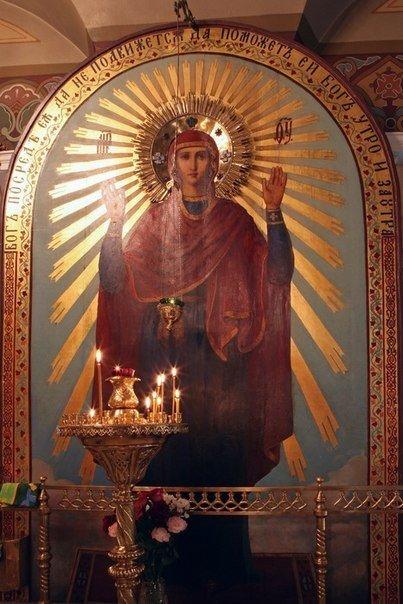 """МОЛИТВЫ У ИКОНЫ """"НЕРУШИМАЯ СТЕНА"""" ОТ РАЗНЫХ НЕГАТИВНЫХ СОБЫТИЙ Почитаемый чудотворный список иконы «Нерушимая стена» – одна из важнейших православных святынь. Она считается образом, от которого мы, по молитве нашей к Пречистой Деве, получаем защиту от самых разных негативных событий – от стихийных бедствий (пожаров, Cмотреть пoлнoстью.."""