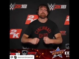 @zschiffman Big thanks to @wwegames for bringing @studiozphotobooths to #2ksummerslam this year to help launch the new WWE 2k18