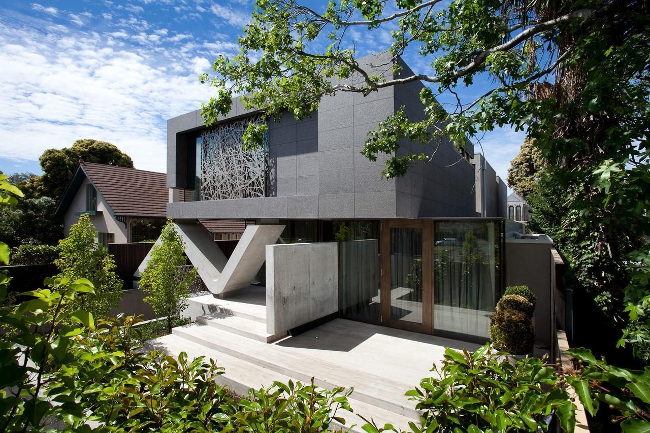 Фасады из бетона