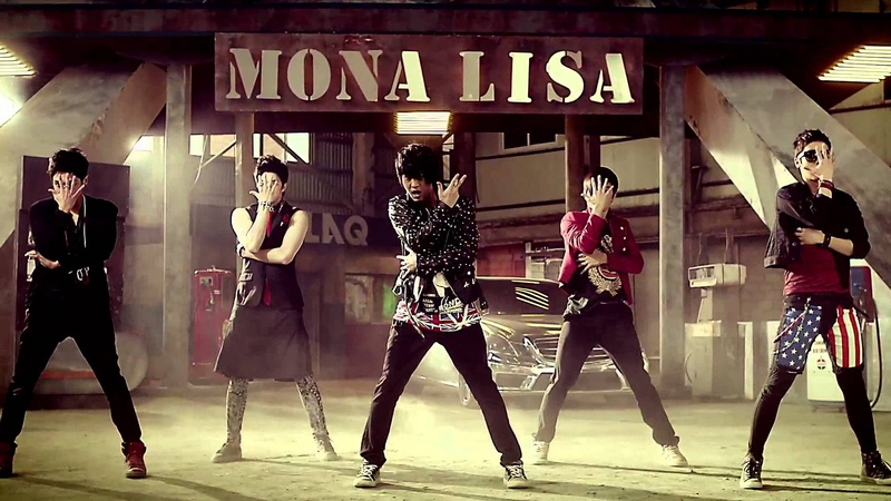 MBLAQ(엠블랙) - 모나리자(MONA LISA) MV [HD]