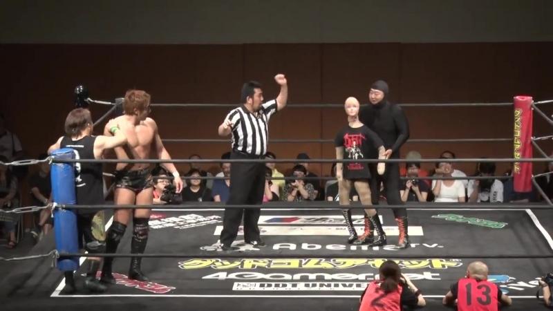 Akito, Katsumata vs. Honda, Riho vs. Cherry, Oishi vs. Hoshitango, Higuchi vs. Matsunaga, Ishii vs. Takeshita, Urano vs. Iwasaki