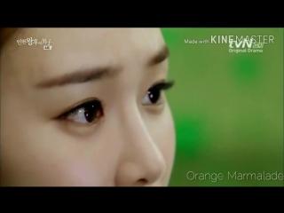 Отрывок из дорамы Рыцарь королевы Ин Хён (Поцелуй) 04 серия озвучка GREEN TEA