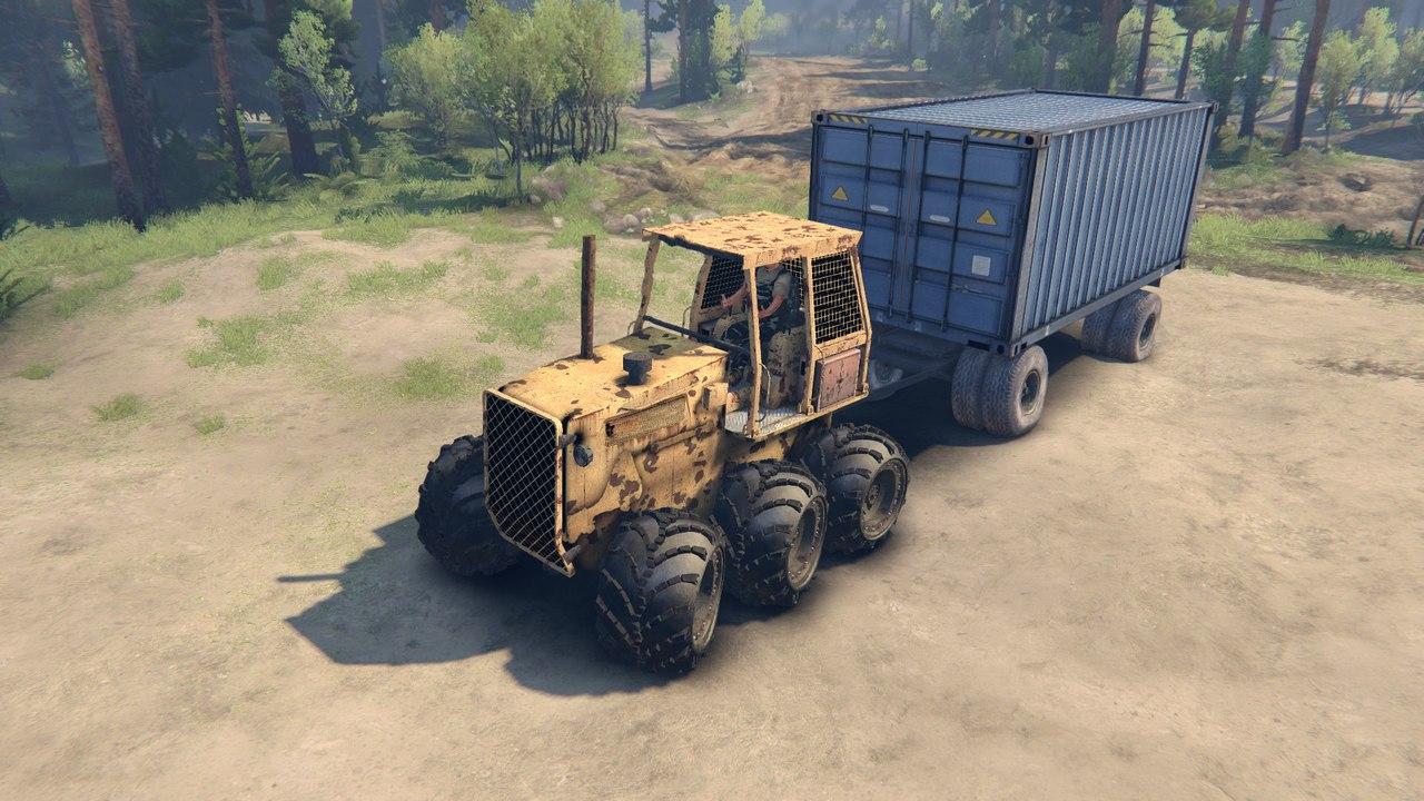 Трактор The Mule  I17AWV_BBUY