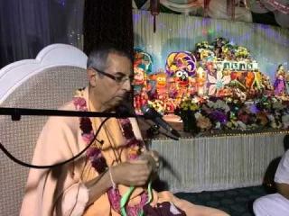 Niranjana Swami � Jaya Radha-Madhava on Janmastami � Almaty, 18 August 2014