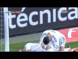Cristiano Ronaldo kicks Karim Benzema in the head ~ Real Madrid vs Osasuna || 09/01/2014