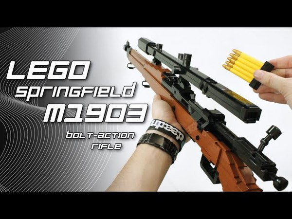 LEGO Springfield M1903 ( USMC Scope and Pedersen Device)