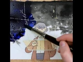 кто-то нарисовал. by heikala
