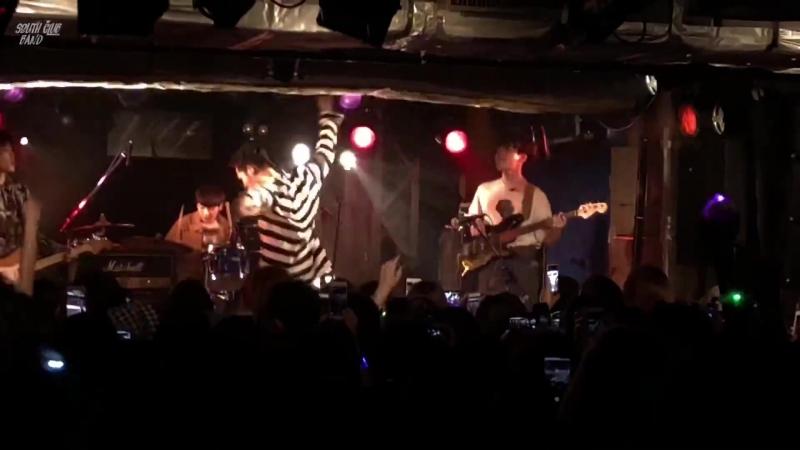 SouthClub Band 180623 OUTCAST (Fanchant!!) South Club JAPAN 1st Tour 2018 - Tokyo Part 2