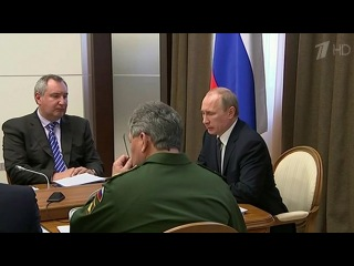 Вопросы выполнения гособоронзаказа стали темой сегодняшнего совещания у Владимира Путина - Первый канал
