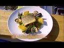 Жареный сибас с фрикасе из моллюсков и жаренной полентой мастер класс от Гордона Рамзи