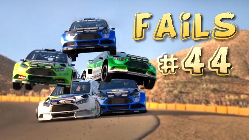 Racing Games FAILS Compilation 44