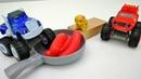 Blaze e le mega macchine giochi per bambini. Episodi completi