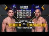 FIGHT NIGHT CHARLOTTE Drew Dober vs. Frank Camacho