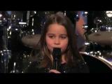 6-ти летняя девочка поёт гроулом