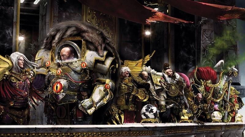 Warhammer 40000 ● Несбыточные мечты Робаут Жиллиман и Лион Эль Джонсон