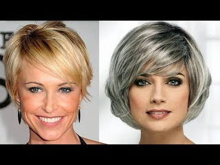 HAIR CUTS FOR WOMEN OVER 50 to 60 YEARS OLD | OLDER WOMEN'S HAIRCUT IDEAS