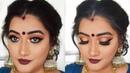 Durga puja Makeup tutorial Bengali makeup look 2018