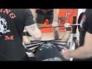Жим в софт-экипировке 280 кг с.в. 94 кг Александр Ляшенко. Закрытая тренировка Ялта Animal Gym 17.03.2018