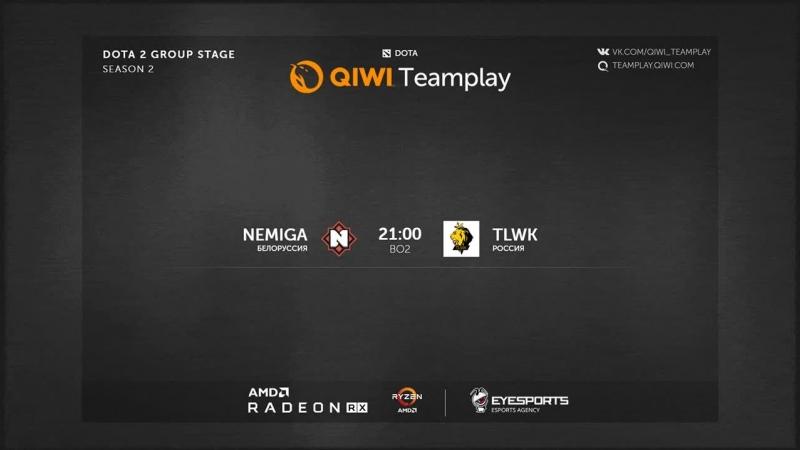 Nemiga vs TLWK II QIWI Teamplay Season 2 Closed Quali II bo2 by Skor