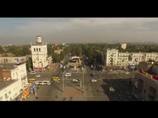 Наш город Запорожье с высоты mp4