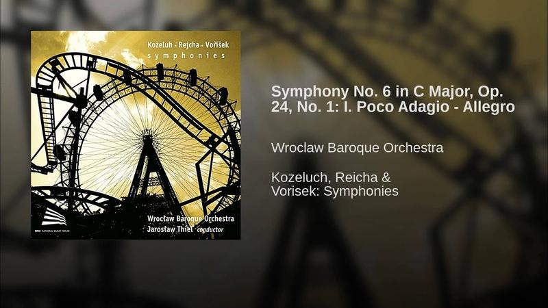 Symphony No. 6 in C Major, Op. 24, No. 1: I. Poco Adagio - Allegro