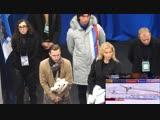 Тутберидзе, Глейхенгауз и Дудаков смотрят КП Алины Загитовой, Гран-При Ростелеком, 16.11.2018, 1080p50fps