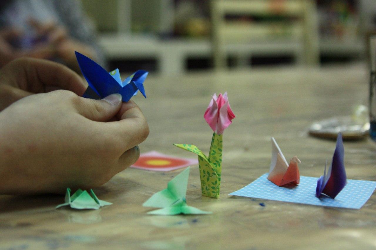 Занятия с ребенком оригами - Дети сети.: Оригами с детьми