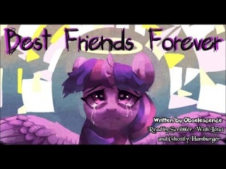 Pony Tales MLP Fanfic Readings Best Friends Forever by Obselescence dark sadfic