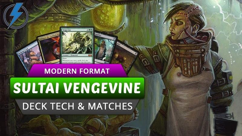Sultai Vengevine Modern Deck Tech and Matches | Jolt