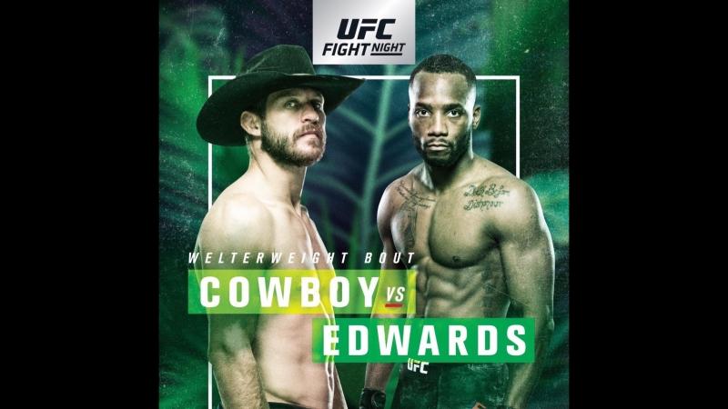 UFC FIGHT NIGHT: COWBOY VS. EDWARDS (WEIGHING)