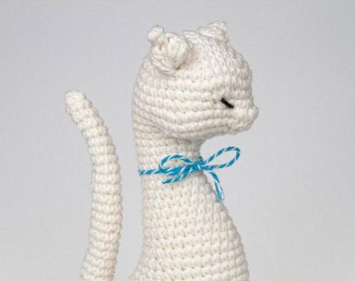 #вязание #игрушка #кот #крючок