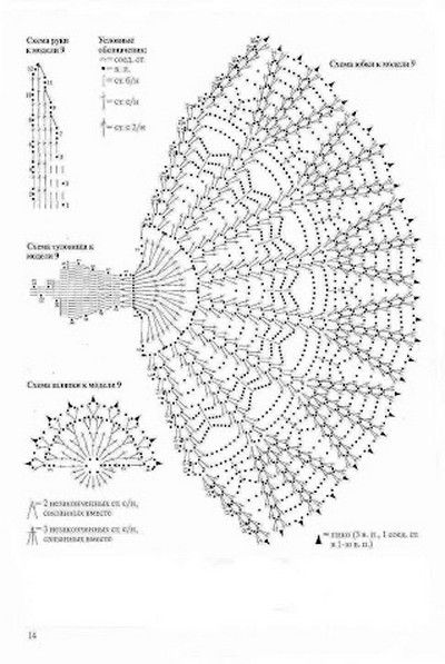Delicadezas en crochet gabriela centro de mesa con dise o for Mesa diseno grafico