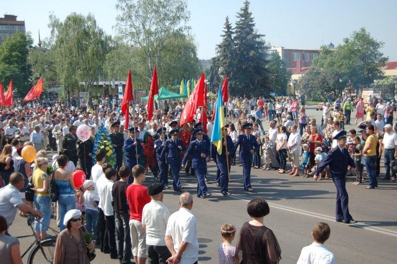 День Перемоги в Миргороді