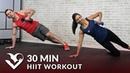 30 минутная домашняя тренировка ВИИТ для похудения с гантелями 30 Minute HIIT Workout for Fat Loss at Home with Dumbbells 30 Min HIIT Workouts for Men Women