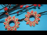 quilling earrings new design
