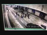 Массовая драка охранников баров,на Думской улице в центре Петербурга,