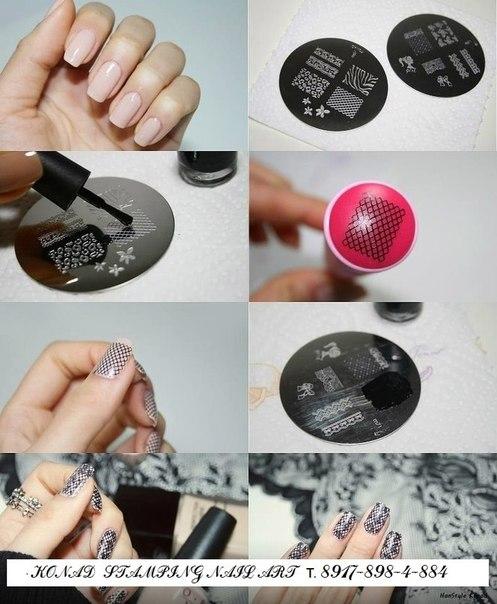Из чего можно сделать штамп для стемпинга своими руками