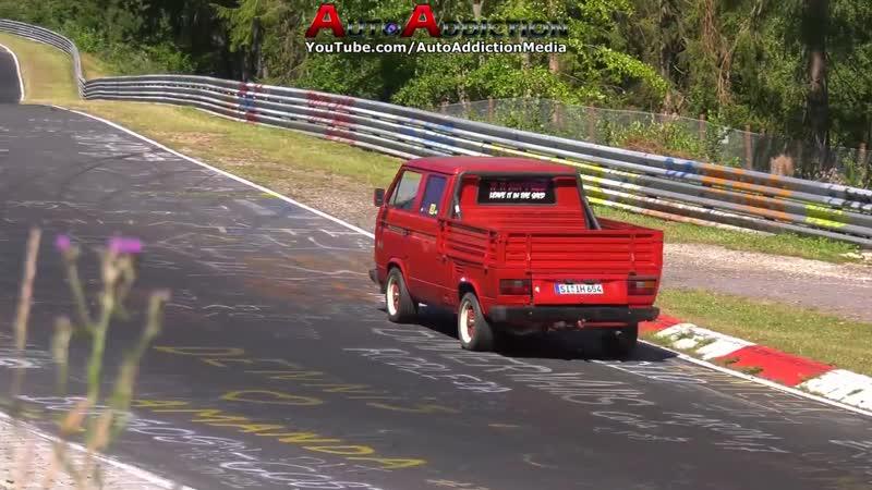 Nordschleife [4K] 01 07 2018 - Girl Crashes Her Car! Highlights - Touristenfahrten Nürburgring