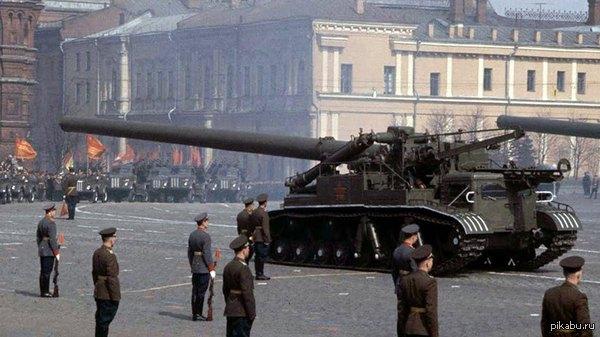 2Б1-«Ока» Советская самоходная 420-мм миномётная установка. Предназначена для ст...